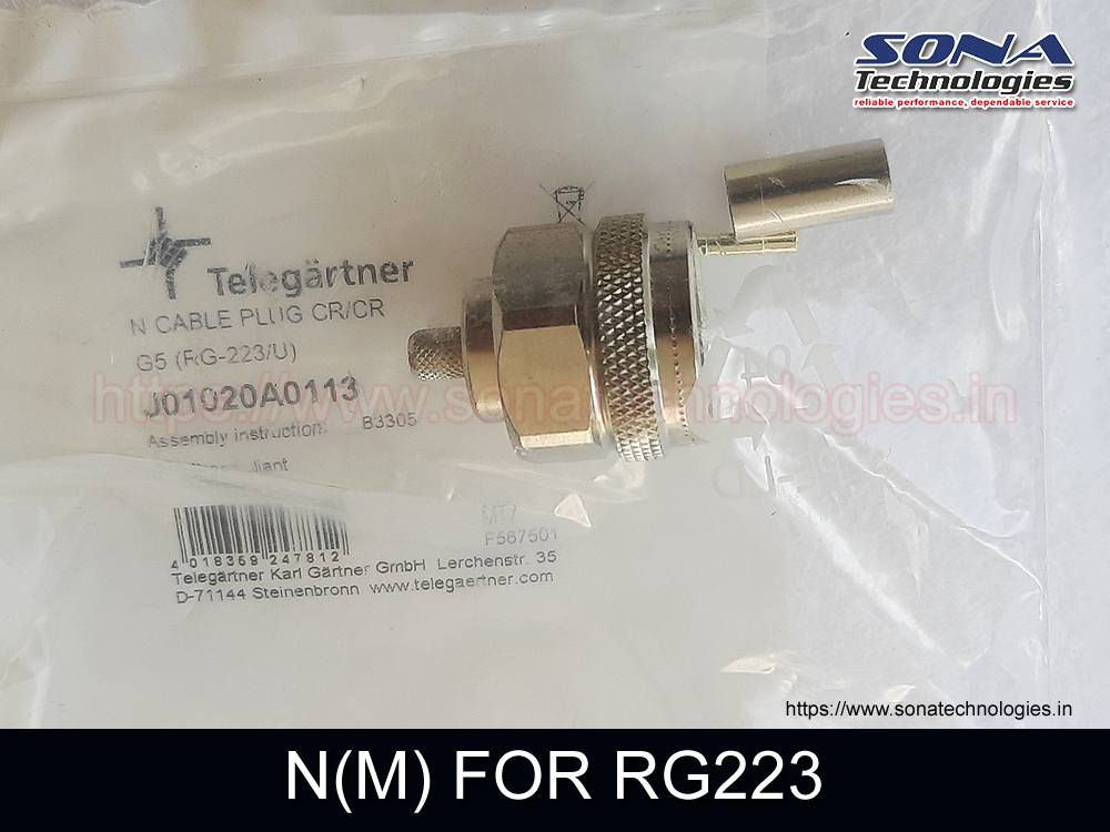 Connector N(M) FOR RG223