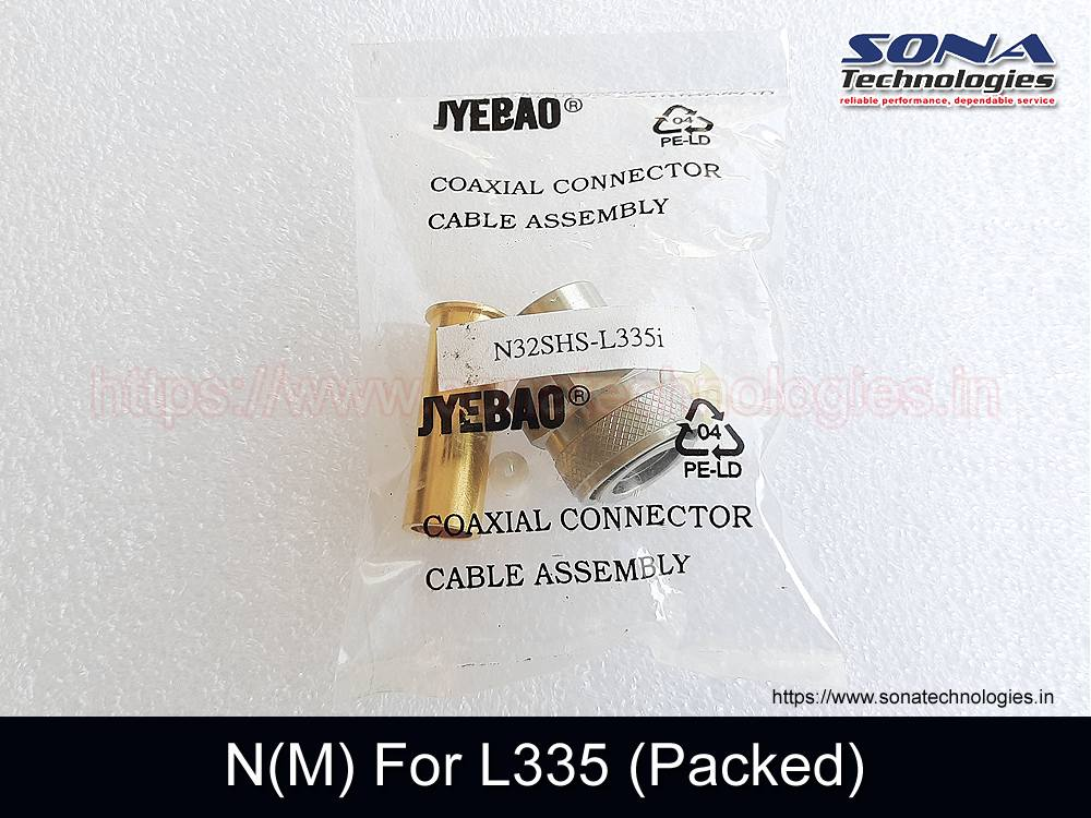 Connector N(M) For L335 (Packed)