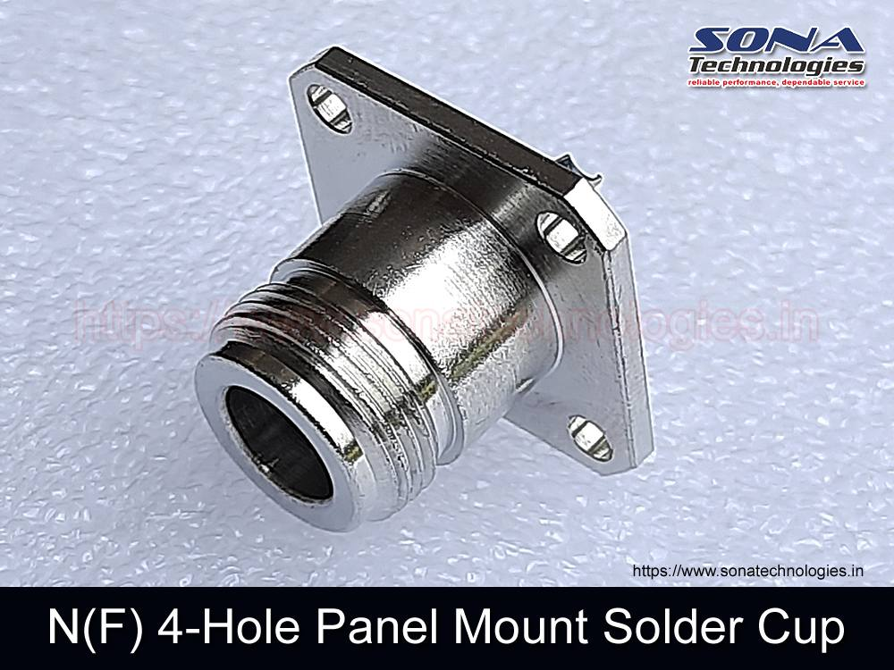 N(F) 4-Hole Panel Mount Solder Cup